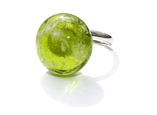 As in glas schroef (ring) top groen